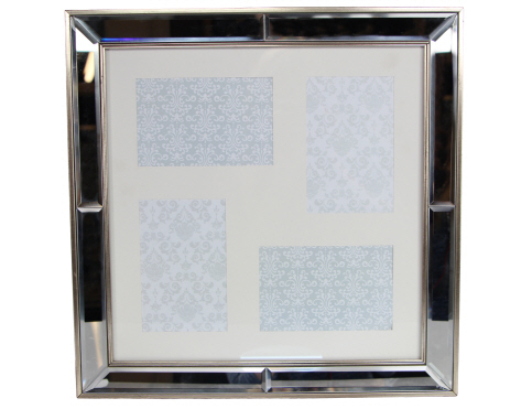 Mirrored Edge Large Picture Frame - Pretty Things